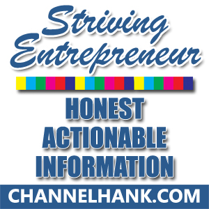 Hank's New Podcast: Striving Entrepreneur