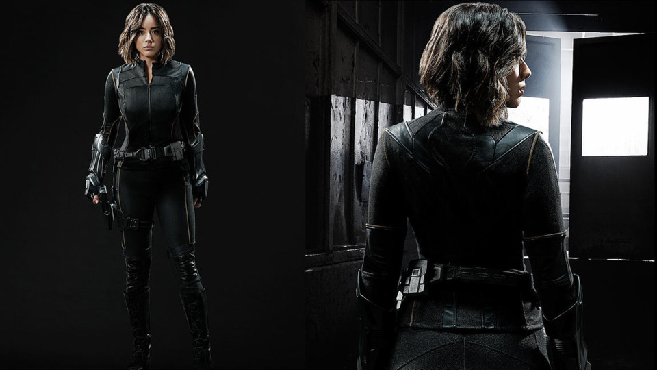 Chloe Bennet's Quake Outfit Season 3 Agents of SHIELD